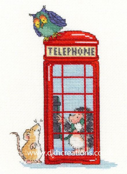 London Calling Margaret Sherry Cross Stitch Kit